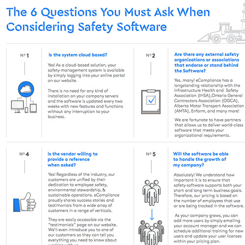 6 Questions You Must Ask When Considering Safety Software