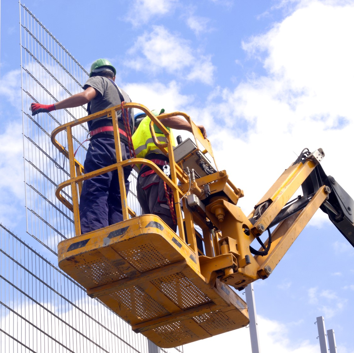 Aerial Lifts in Industrial and Construction Image