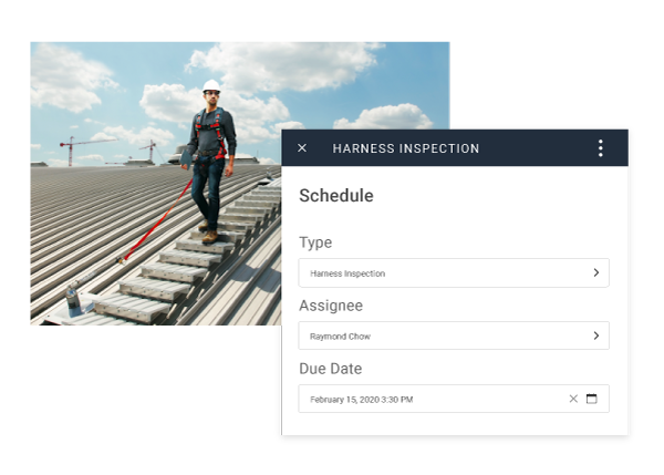 safety inspections in volume with field id